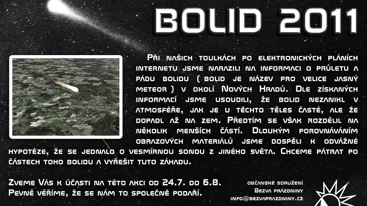 Bolid 2011
